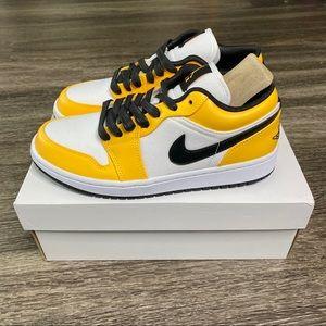 Air Jordan 1 Low Laser Orange Size 8W